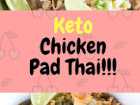 Keto Chicken Pad Thai!!!