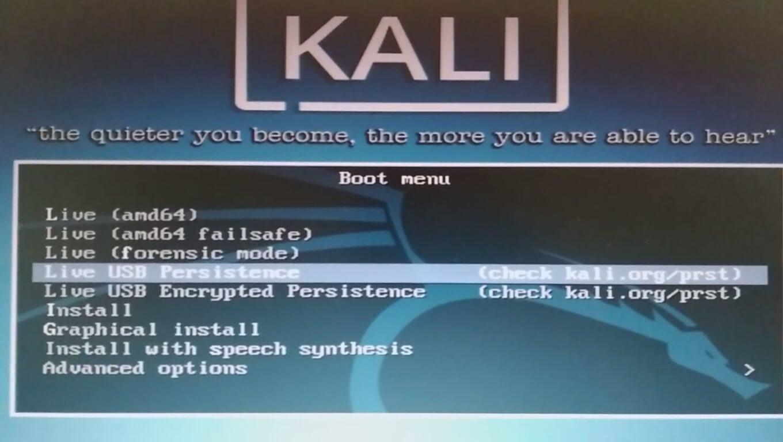 Kali Linux 2019 2 USB Persistence | Limon Tec