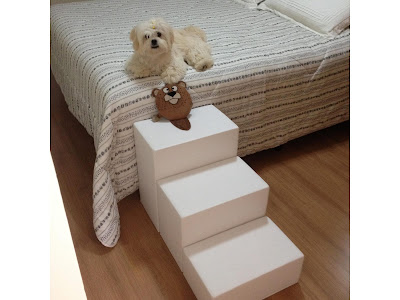 alturas para escadas de cães