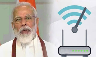 Launches PM Voice Scheme to provide Wi-Fi to every village in the country