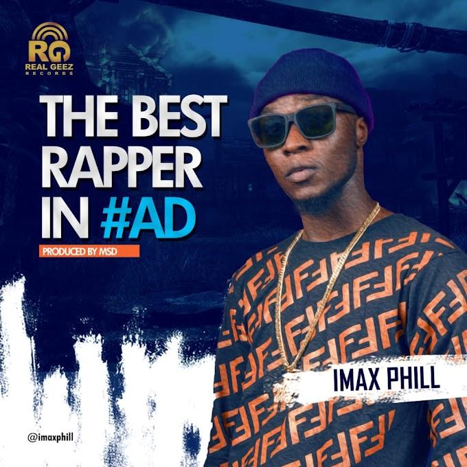 Imax – Best Rapper in Adamawa (BRIAD)
