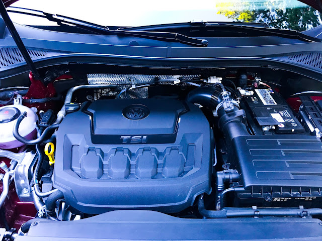 Engine in 2020 Volkswagen Tiguan 2.0T SEL with 4MOTION