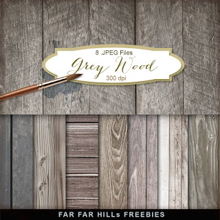 Freebies Kit of Backgrounds - Grey Wood