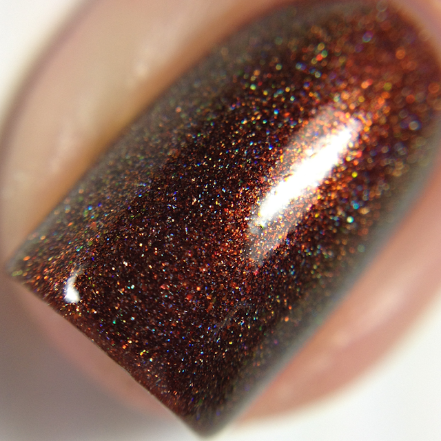 Lemming Lacquer-It's Peanut Butter Chocolate Time!