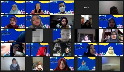zoom online komunitas emak blogger