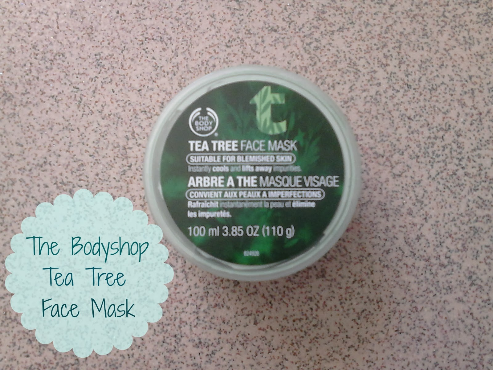 The Bodyshop Tea Tree Face Mask