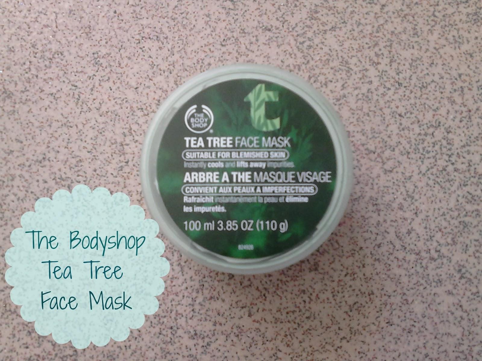 The Bodyshop Tea Tree Face Mask