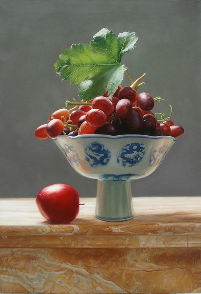 Реалистичные натюрморты. Yingzhao Liu