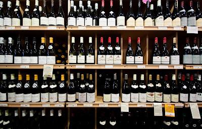 Posizionamento vino enoteca