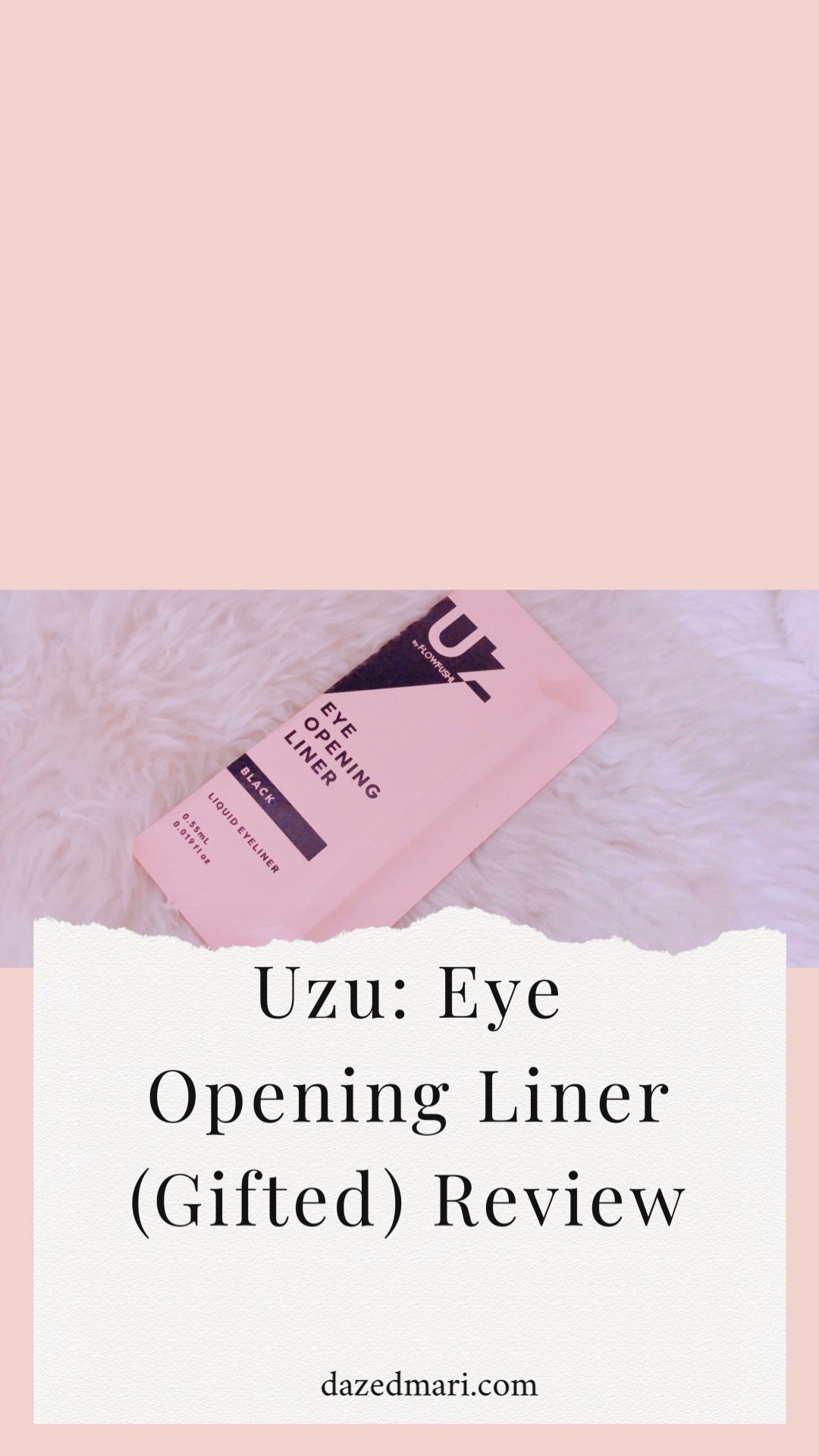 Uzu, Unframe The Beauty, Gifted, Make Up Review, Japanese Cosmetics
