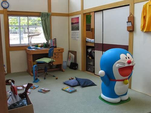 Desain Kamar Doraemon untuk Anak Anda