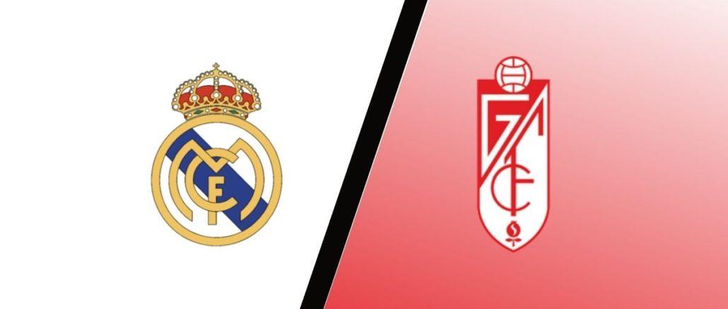 مباراة ريال مدريد وغرناطة اليوم