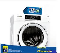Logo Whirlpool regala 1 anno di lavaggio omaggio con Dash Allin1 Pods