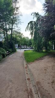 Parkeingang heute