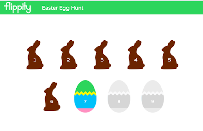 Fun with Flippity: Easter Egg Hunt