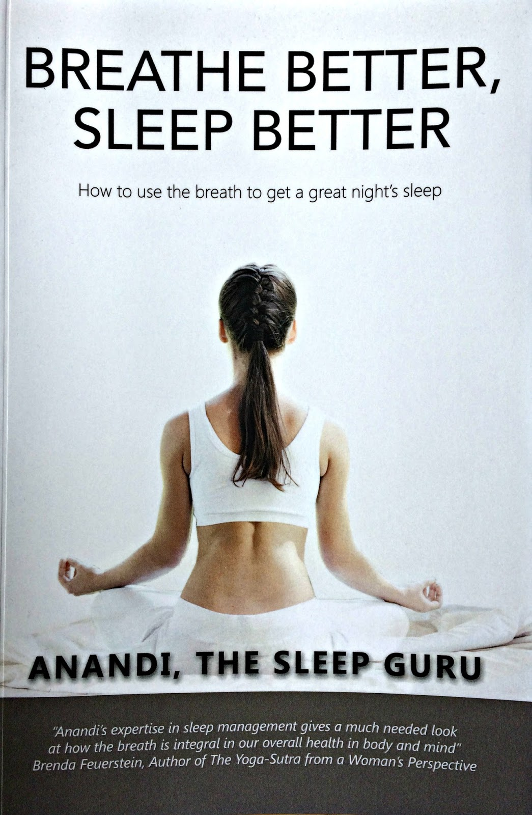 Breathe Better Sleep Better by Anandi The Sleep Guru Book Cover