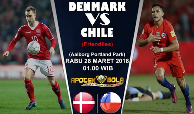 Prediksi Denmark vs Chile 28 Maret 2018
