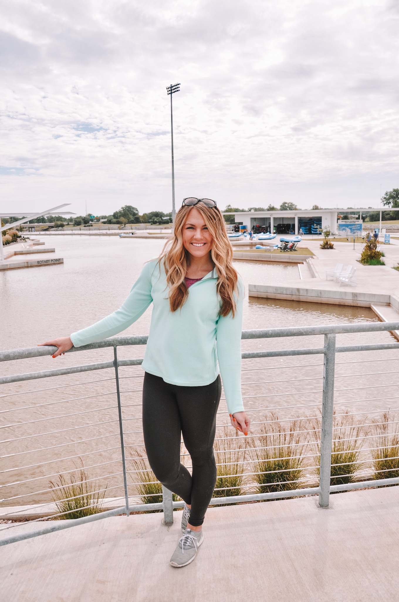 Oklahoma City travel and lifestyle blogger Amanda's OK goes whitewater rafting at Riversport OKC