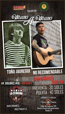 Mano a mano concierto Arequipa