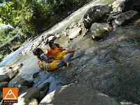 Ber Tubing di Kali Stail Banyuwangi Jawa Timur