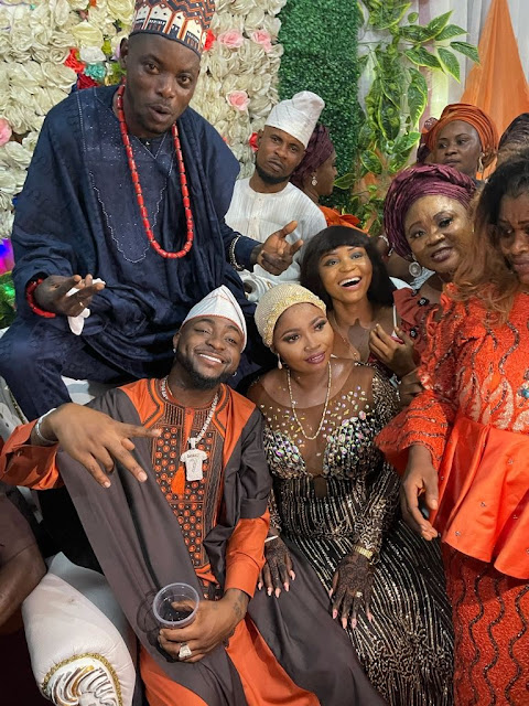 Check Out Photos As Davido's Driver Gets Married