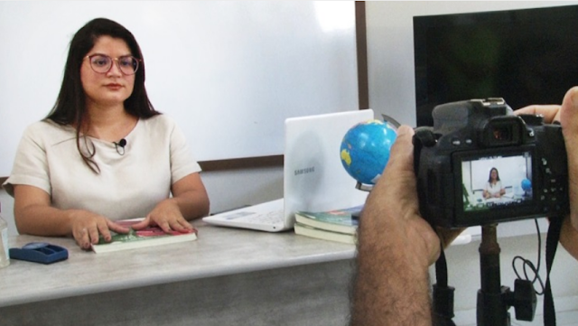 """""""Aulas na TV"""" da SEDUC Parnaíba iniciaram nesta segunda (12)"""