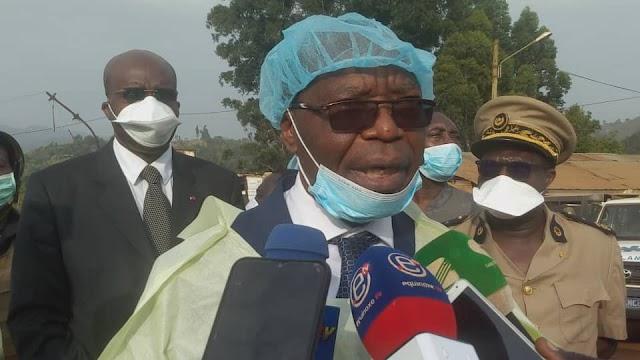 Adolphe Lele L'Afrique Enforces Government 13 Measures to Curb COVID-19