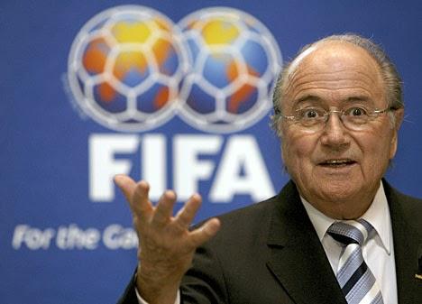 e5feb977f7b2d Joseph Blatter voltou a estar no epicentro de nova polémica no futebol  Mundial (mais uma…)