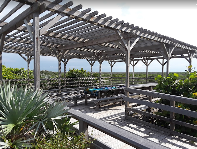 Canaveral National Seashore Playalinda Beach Eddy Creek Gazebo