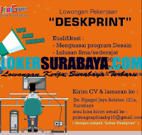 Loker Surabaya di Prima Graphia Print Everything September 2020