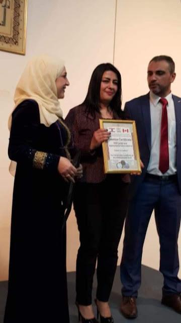 منظمة أجنحة السلام في كندا تكرم أهل الفن في لبنان