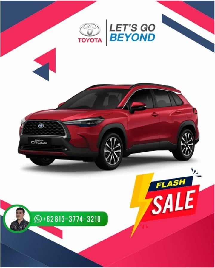 Harga Promo Toyota Corolla Cross Bali