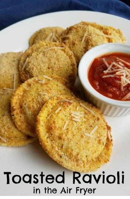 Toasted Ravioli In The Air Fryer