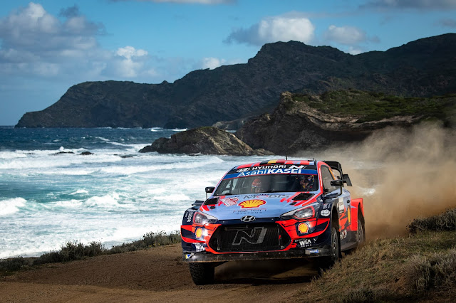 Hyundai i20 coupe World Rally Car