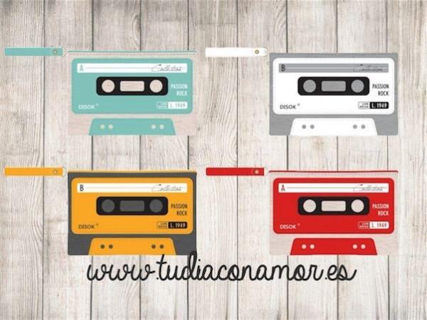 Estas bolsas de aseo retro cassette son el recuerdo perfecto para hombre y mujer si buscáis un detalle de estilo Pop-Art