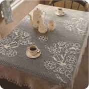 Precioso mantel fácil de hacer a Crochet