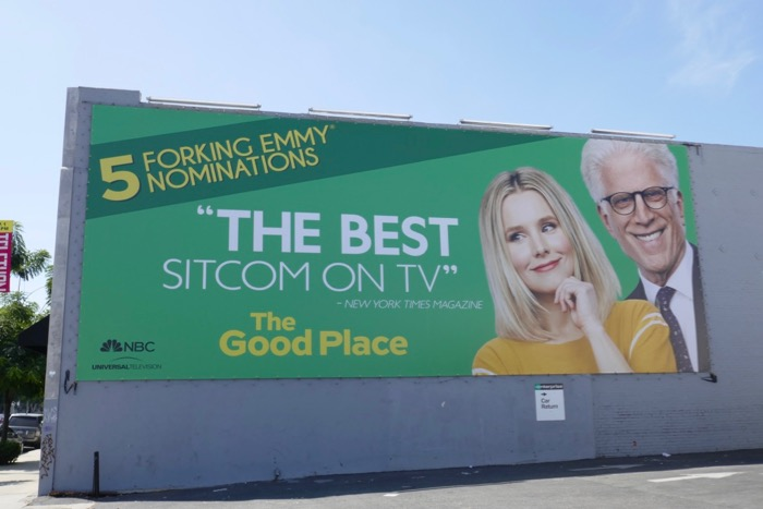 Good Place 5 forking Emmy nominations billboard