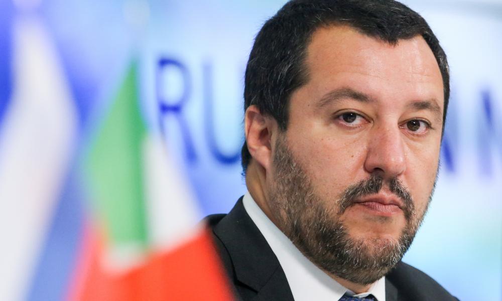 Oργή Σαλβίνι: ''Η Γερμανία κατέστρεψε την Ελλάδα, θέλει να κάνει το ίδιο & στην Ιταλία-Δεν θέλω τα χρήματα της Μέρκελ''