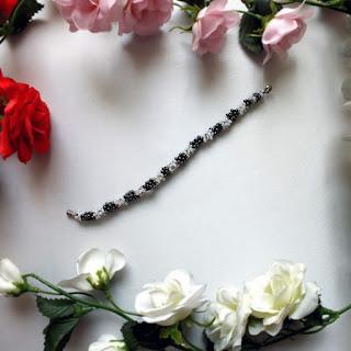 Nazo Kristal Boncuk Bileklik çiçekli - Nihal'in Rüyası