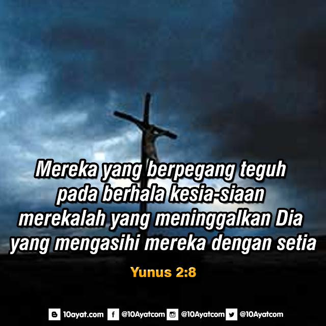 Yunus 2:8