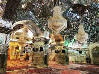Masjid Mewah di Negara Syiah Iran yang Beralih Fungsi Jadi Tempat Pembuatan Masker