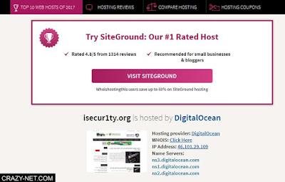 كيف معرفة استضافة اى موقع على الانترنت