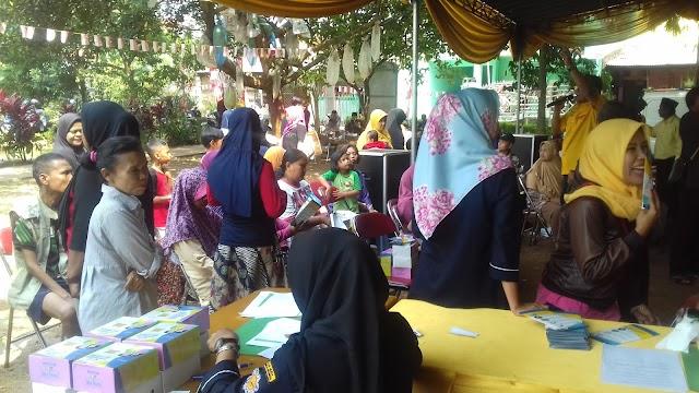 AMPI Rayon Cilodong Gelar Pengobatan Gratis