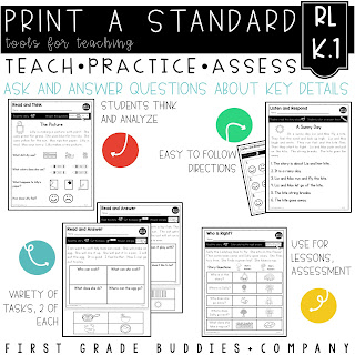 https://www.teacherspayteachers.com/Product/Ask-and-Answer-Questions-RL-K1-No-Prep-Tasks-for-Instruction-and-Assessment-3119949