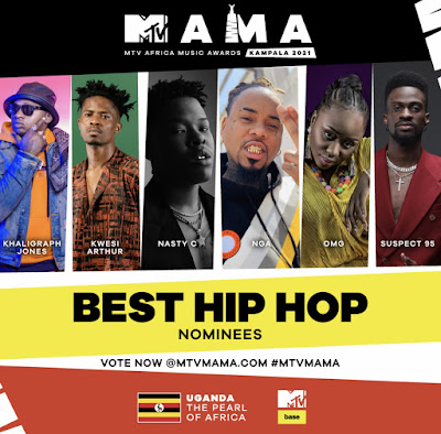 Kwesi Arthur Nominated For 2021 MTV Africa Music Awards (Check Full List Of Nominees)
