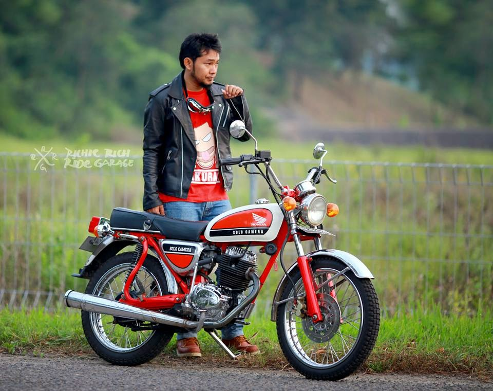 Photo Modifikasi CB125 Barcelona Restored
