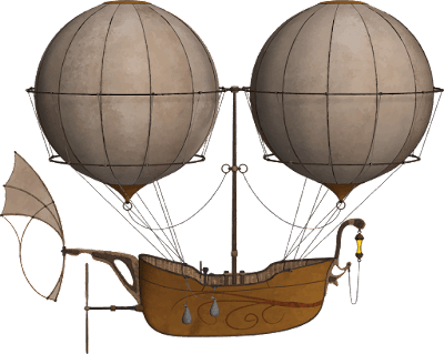 Mit Luftschiff unterwegs – Adalbert Stifter – In der Einöde der Lüfte