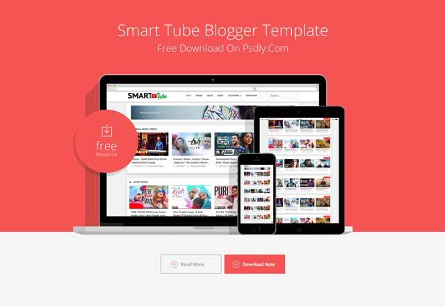 Smart-Tube Blogger Template