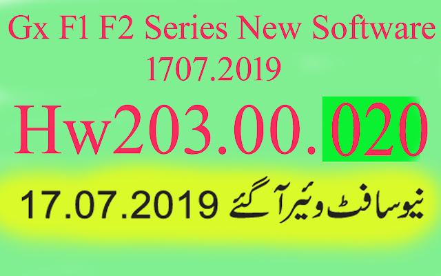 Gx6605s F1 F2 Series HW203.00.020 New  Software