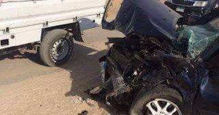 وفاة 5 أشخاص وإصابة 3 في انقلاب سيارة بوادي النطرون